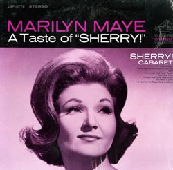 A Taste of Sherry - Marilyn Maye